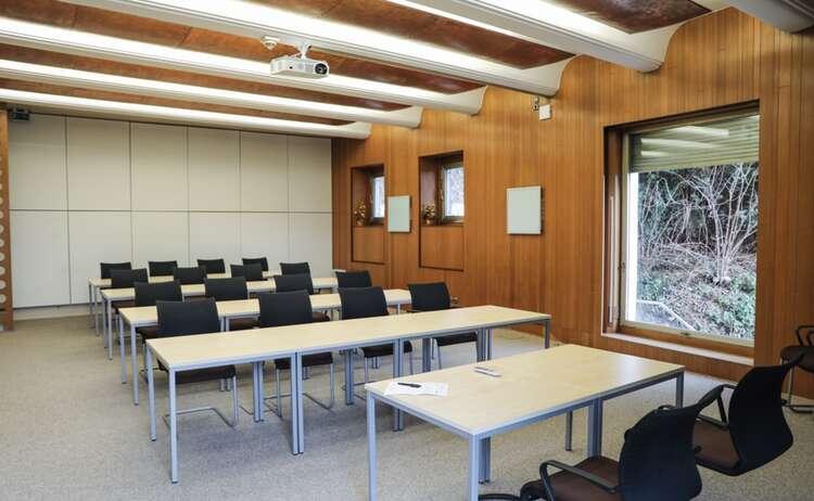 Seminarraum der Max Aicher Akademie