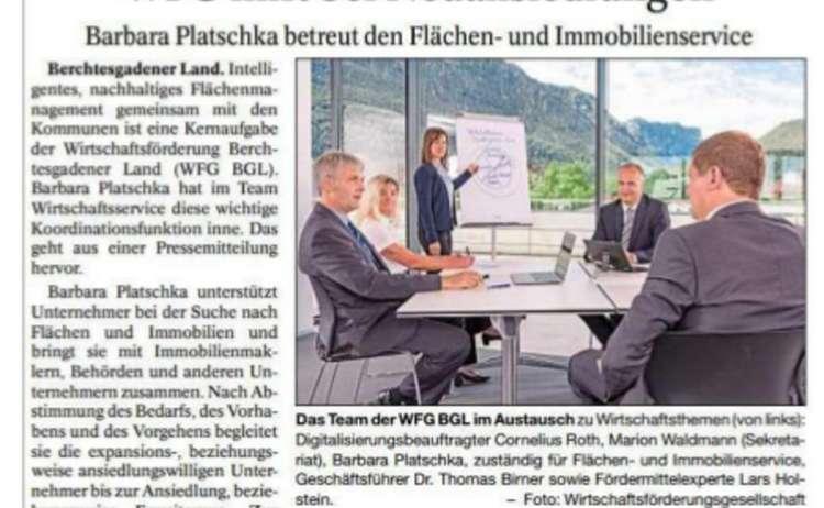 Neuansiedlung - Pressebericht klein