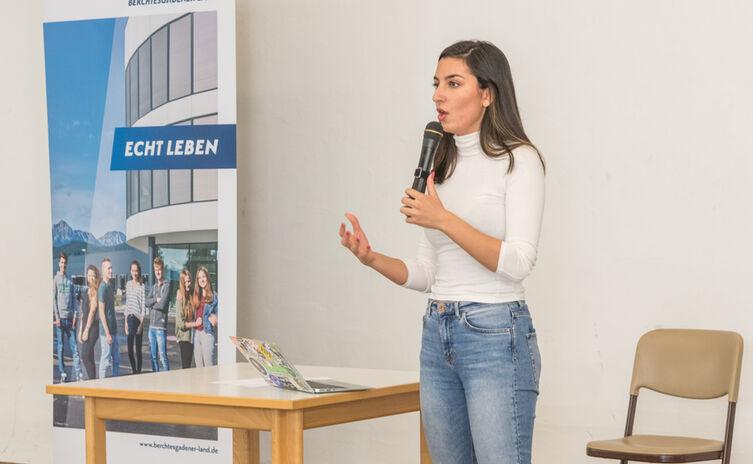 Aya Jaff erzählt ihre Gründungsgeschichte
