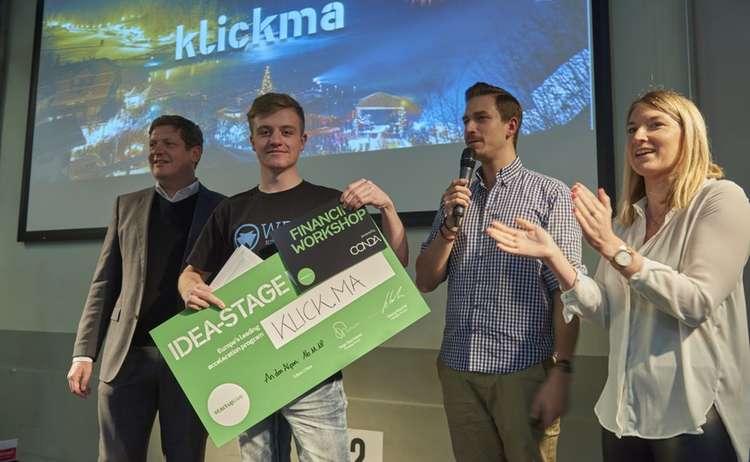 Gewinner: beste Idee - Frühphase