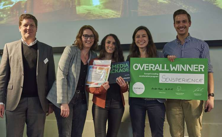 Gewinner Startup Camp 2018