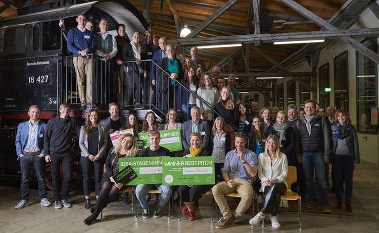 Gruppenfoto Startup Camp 2018