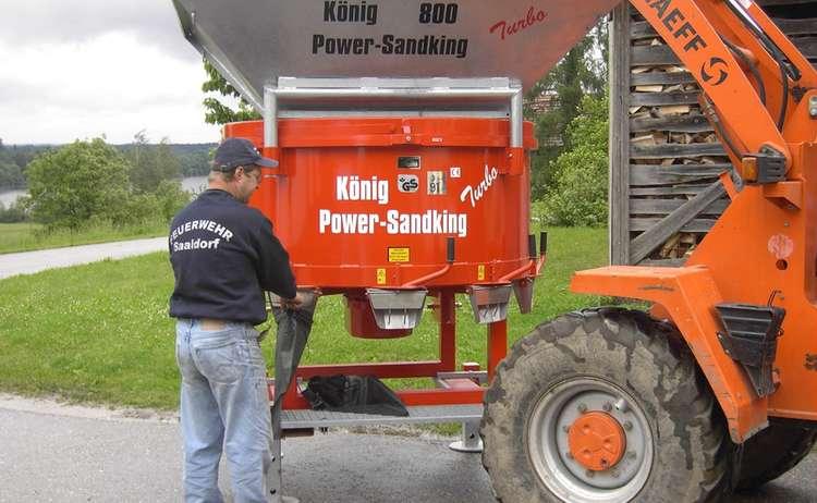 Power Sandking