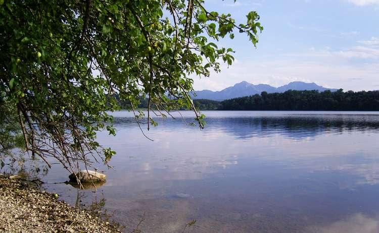 Abtsdorfer See C Biosphaerenregion Berchtesgadener Land