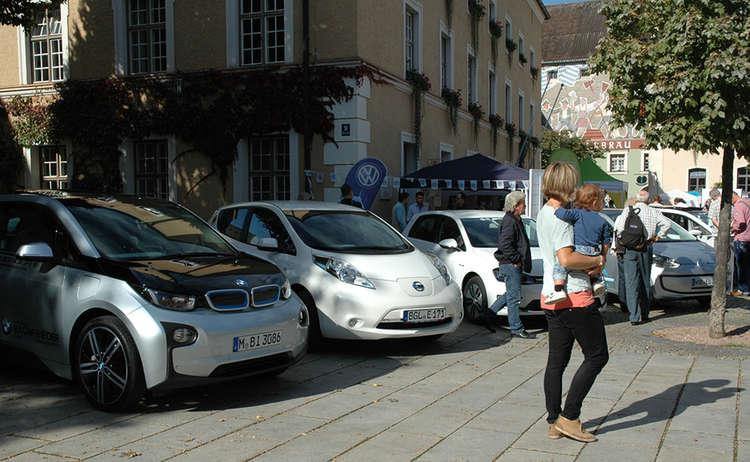 Aktionstag Elektromobilitaet Erleben
