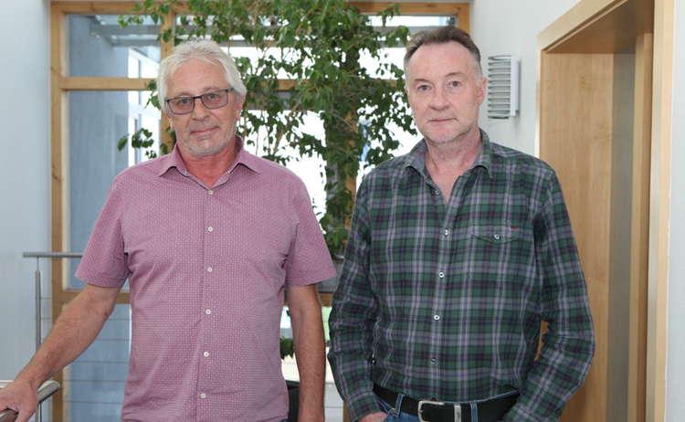 Armin Eberth Und Technischer Leiter Manfred Waldmann