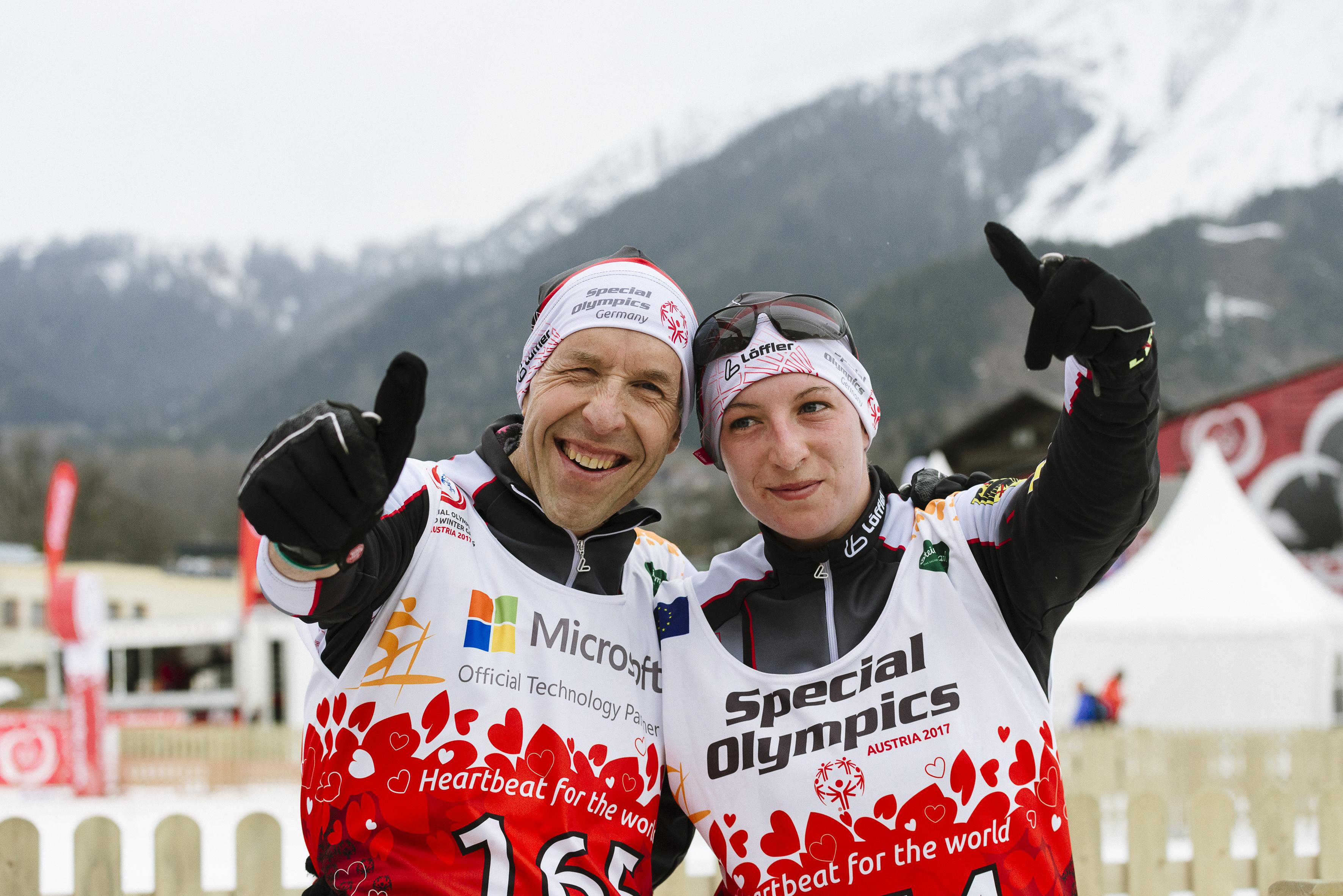Special Olympics Ski Langlauf