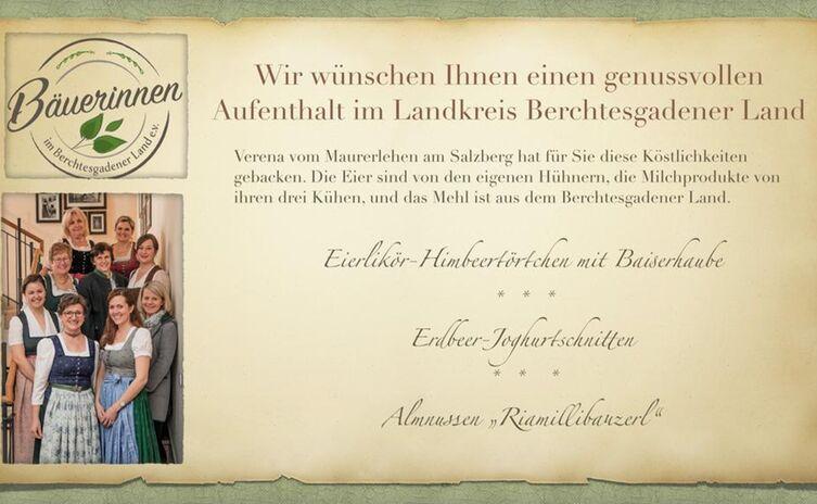 Bäuerinnen im Berchtesgadener Land