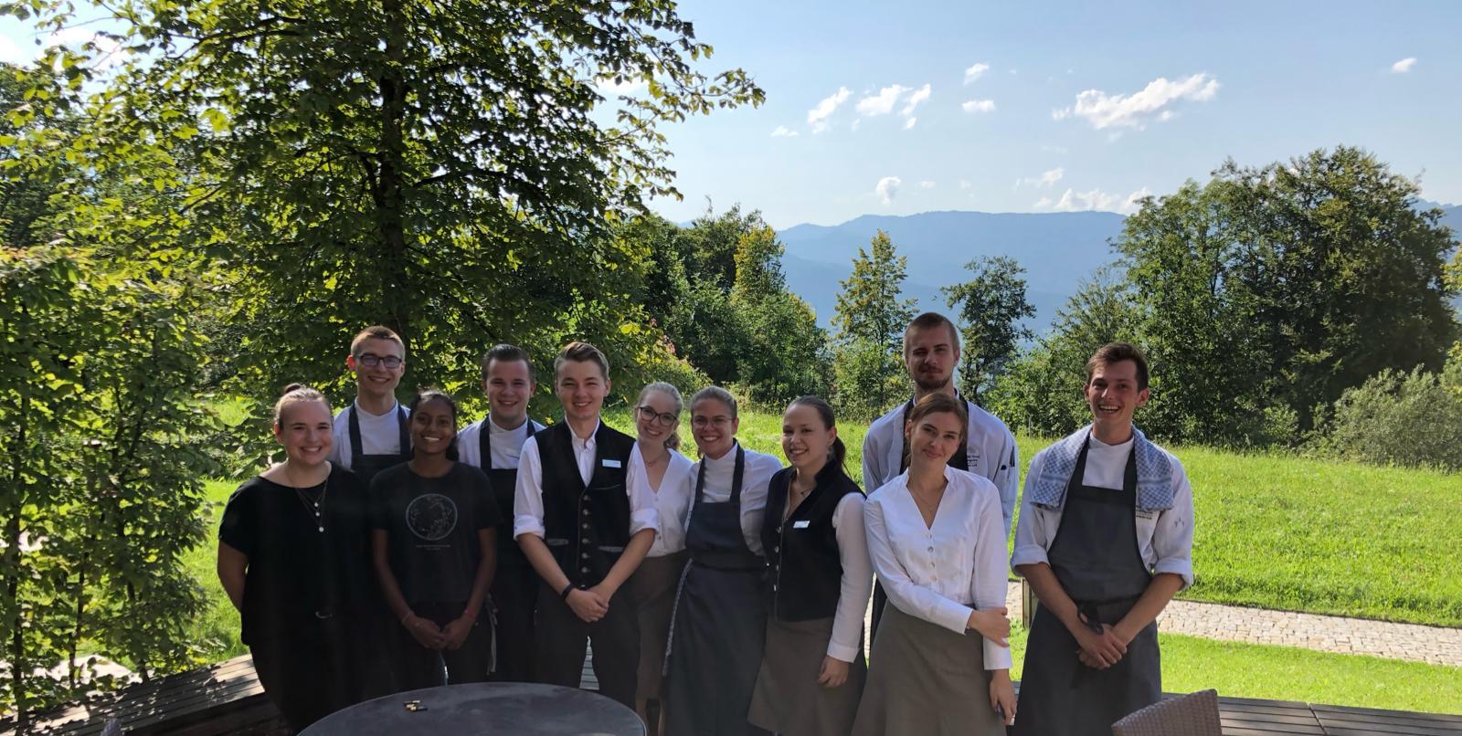 kempinski Berchtesgaden Azubis