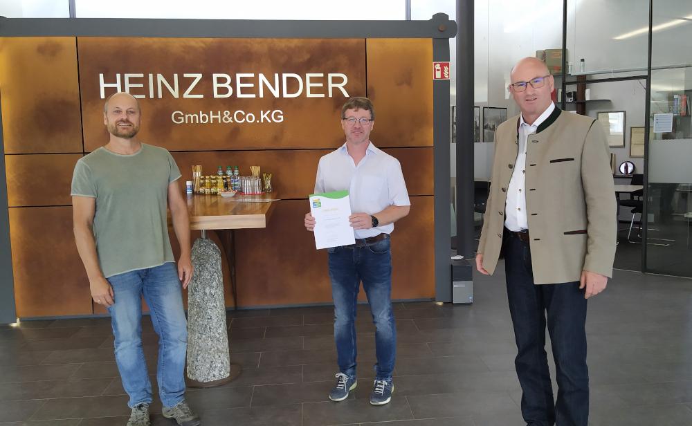 Umwelt- und Klimapakt Bayern Heinz Bender