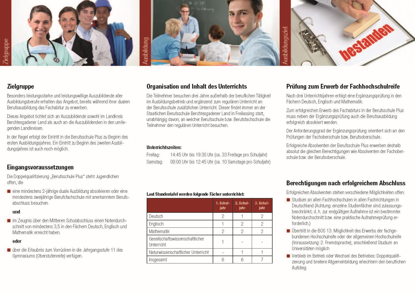 Berufsschule Plus Seite 2