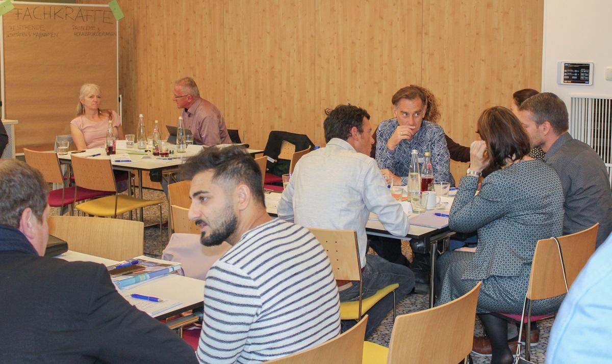 Netzwerktreffen Fachkräfte und Gründerkultur