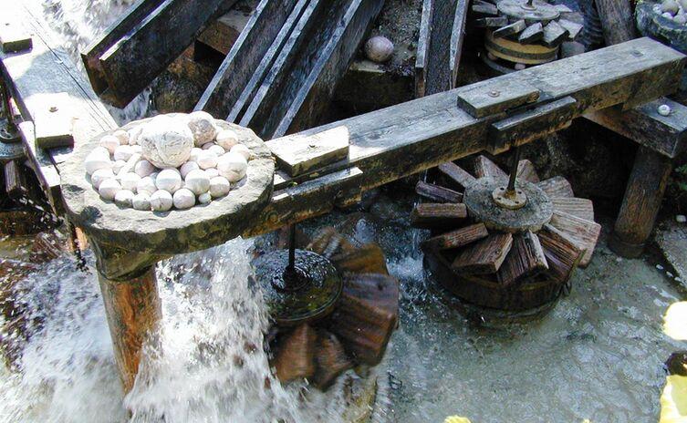 Kugelmühle Almbach