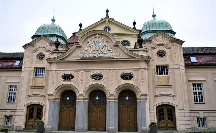 Das alte Königliche Kurhaus in Bad Reichenhall