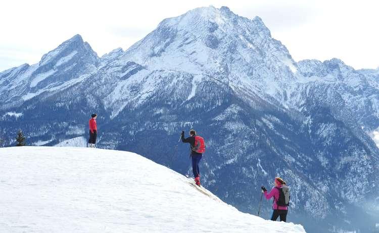 die Berge erklimmen