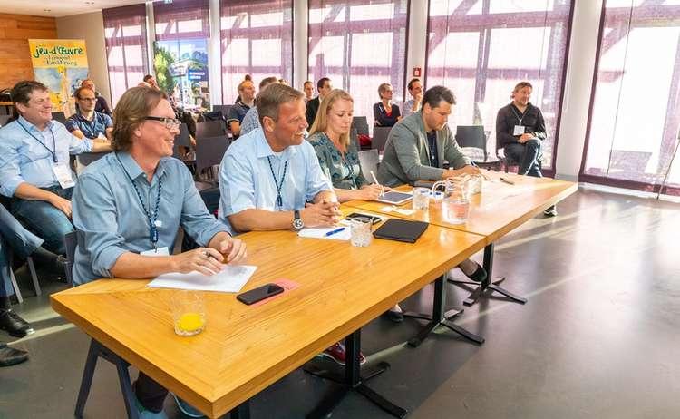 Die Jury des Startup Camps