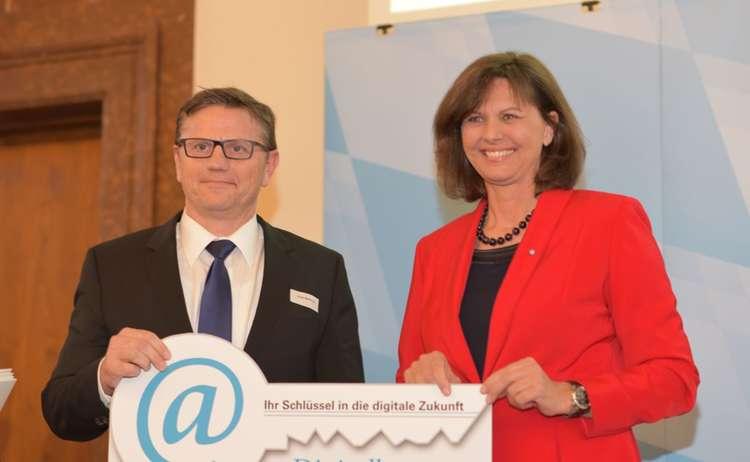 Digibonus Verleihung Asco Berchtesgadener Land 1200