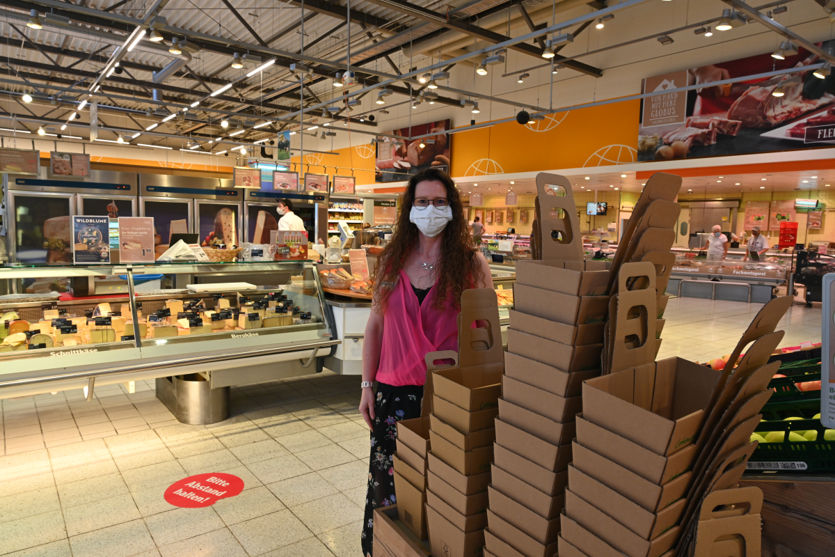 Globus setzt auf nachhaltige Verpackungen