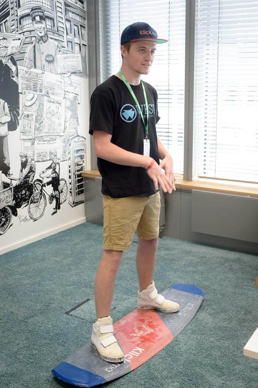 Startup Teens Felix Kiteboard