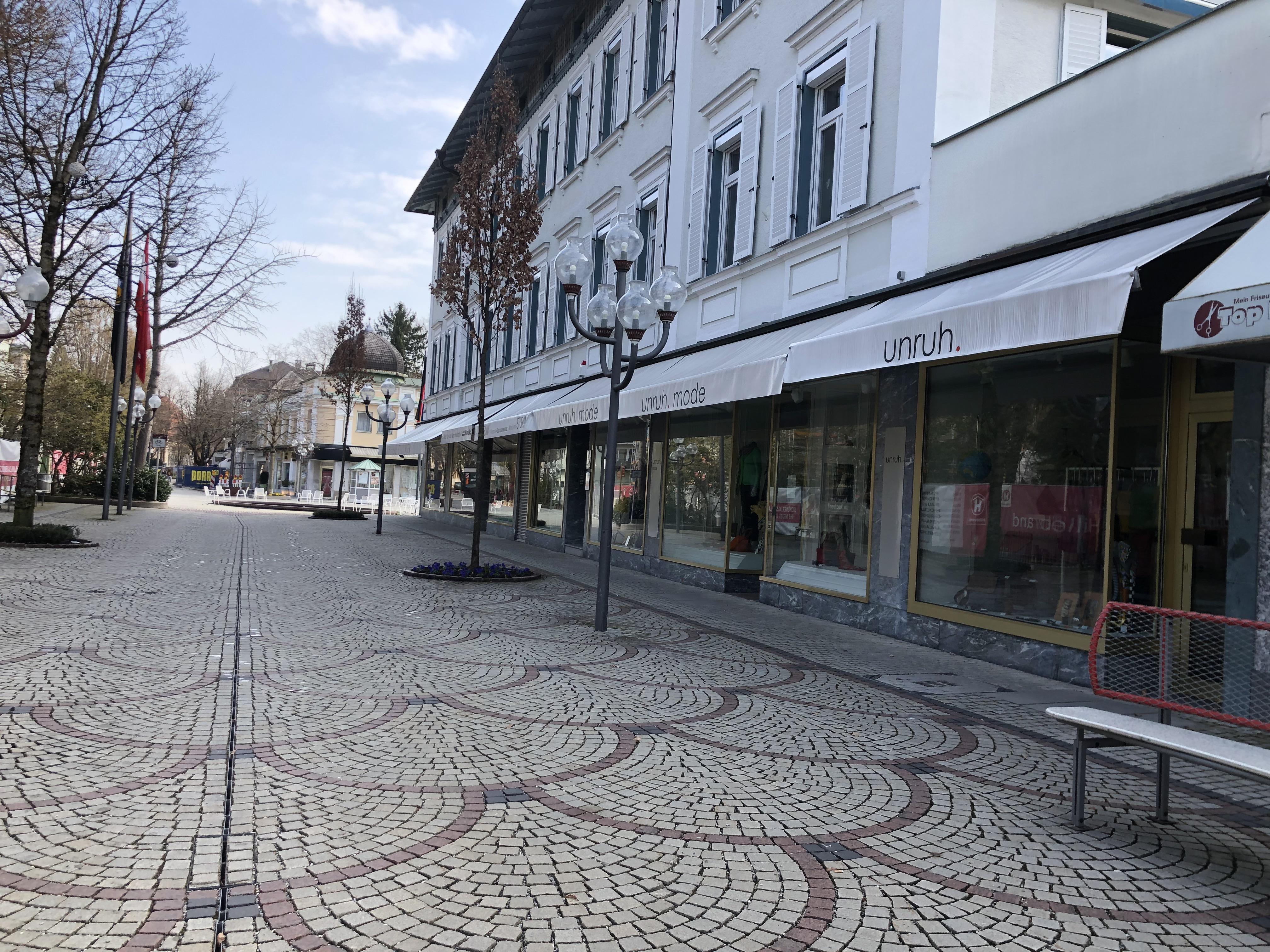 Fußgängerzone Bad Reichenhall