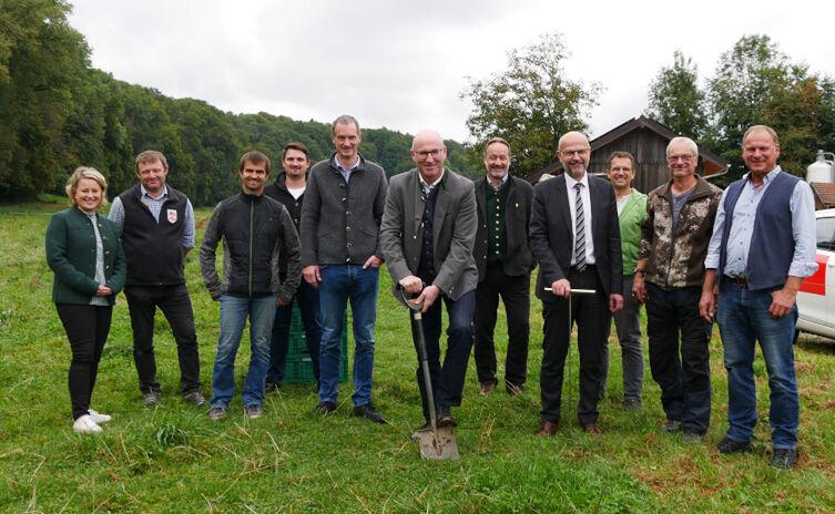 Humusaufbau im Berchtesgadener Land