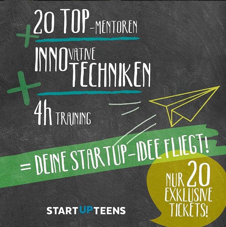 Flyer Startup Teens