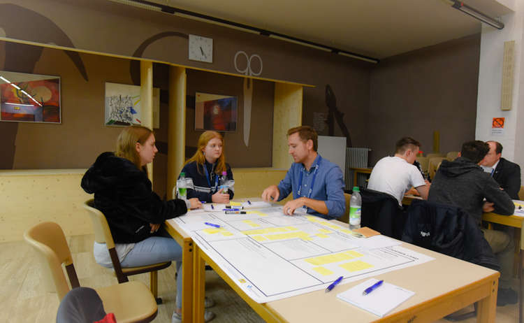 Ideencamp 2019 Verkleinert 5 Ausarbeitung Business Model Canvas