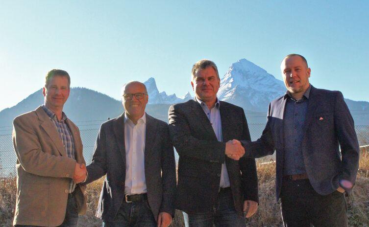Christian Pfnür und Andreas Landa traten die Firmennachfolge an!