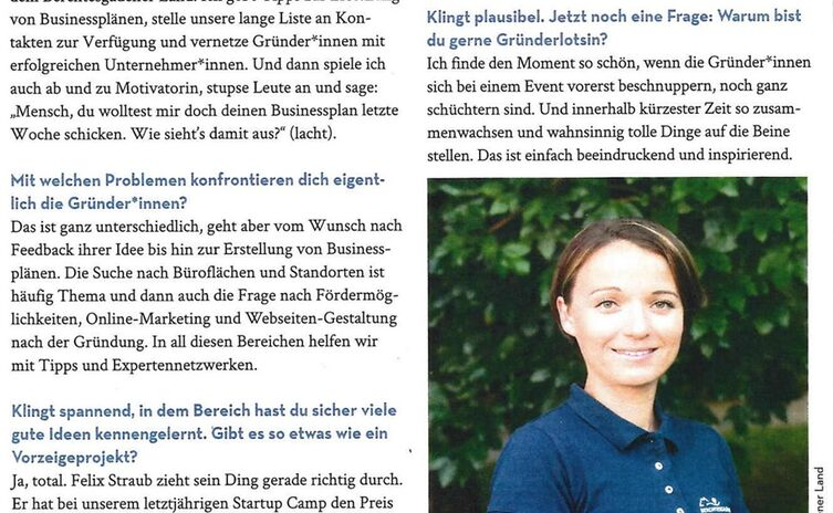 Interview Gründerlotsin