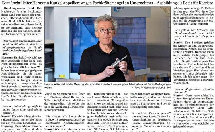 Interview Kunkel Berufsschule Pnp