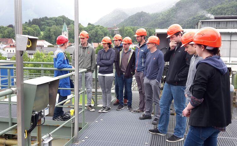 Industrieexkursion bei den Berchtesgadener Milchwerken