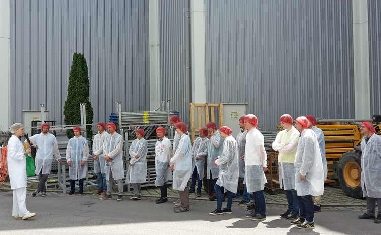 Industrieexkursion bei den Berchtesgadener Milchwerke