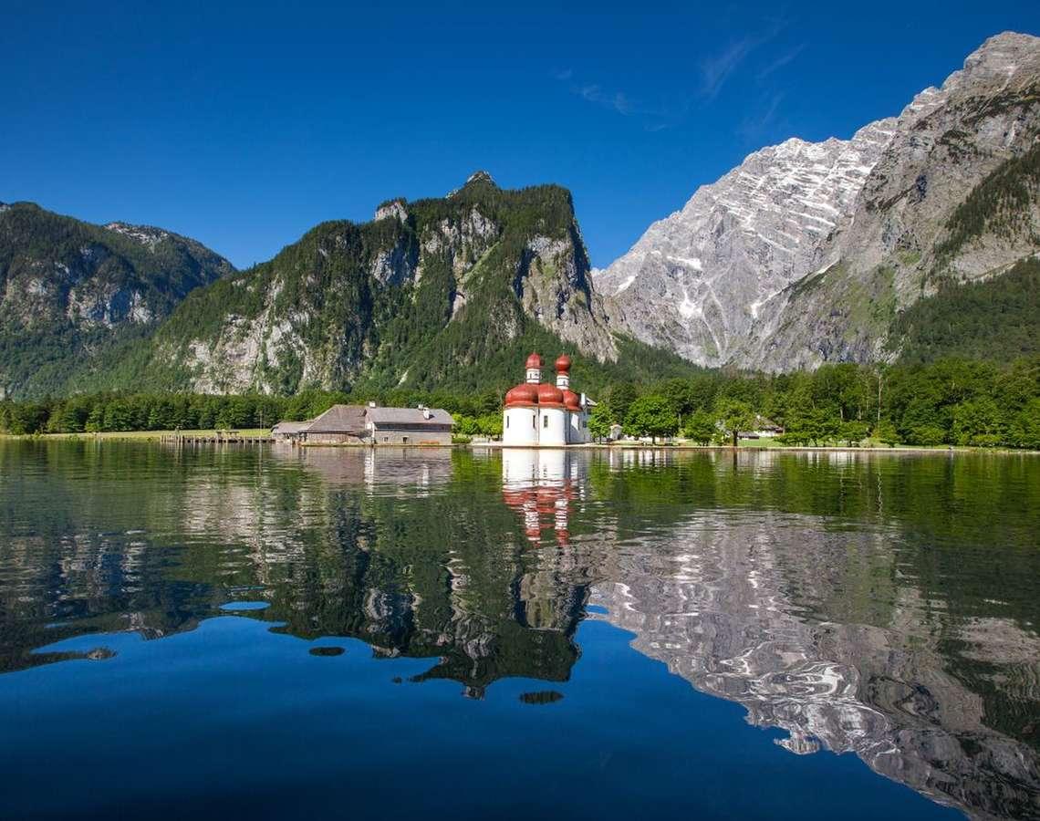 Koenigssee Stbartholomae Berchtesgadener Land