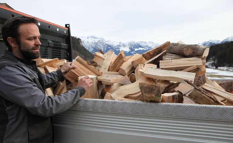 Landtechnik Stanggassinger Brennholzsaege 23 Min