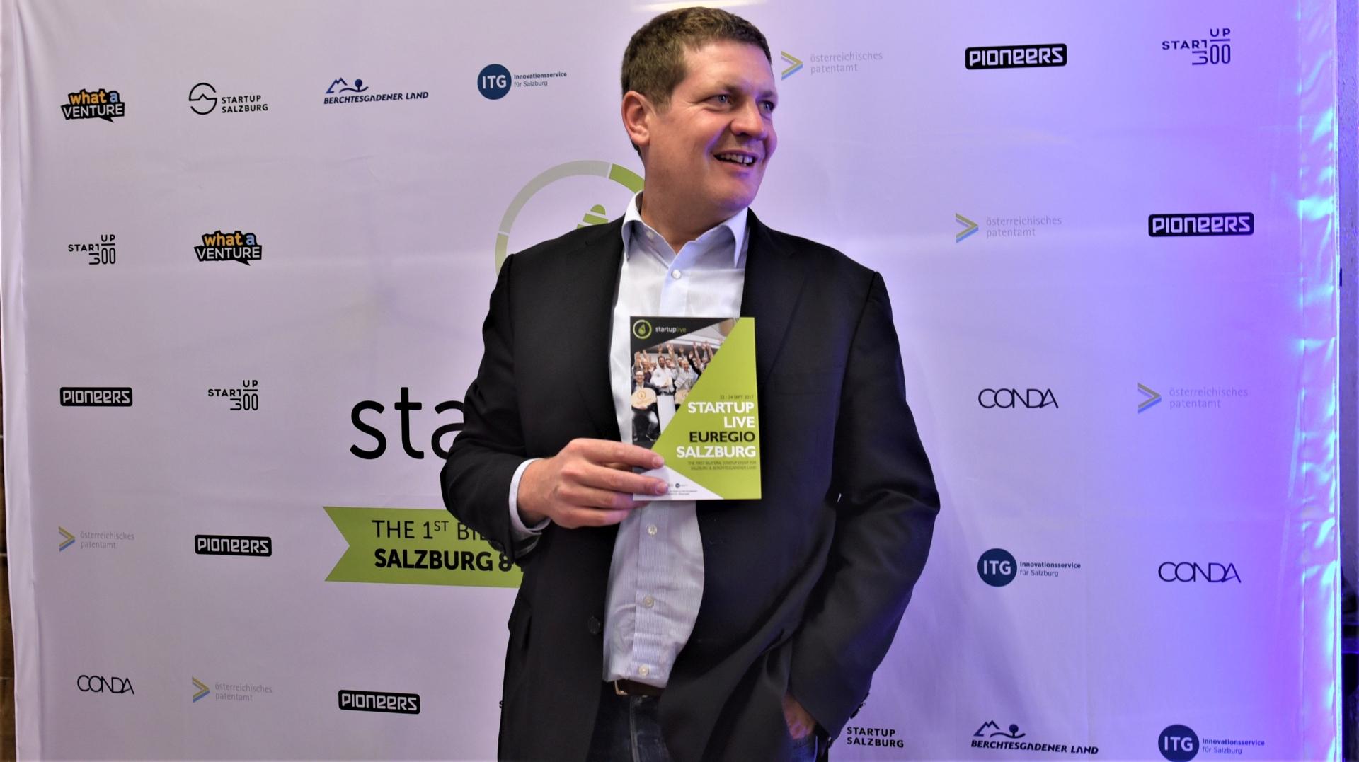 Lars beim Startup
