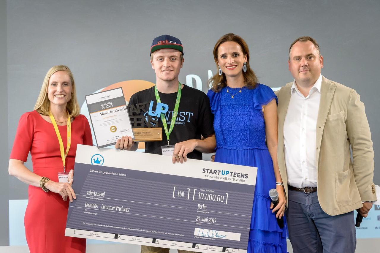 Startup Teens Felix und Marie Christine Ostermann