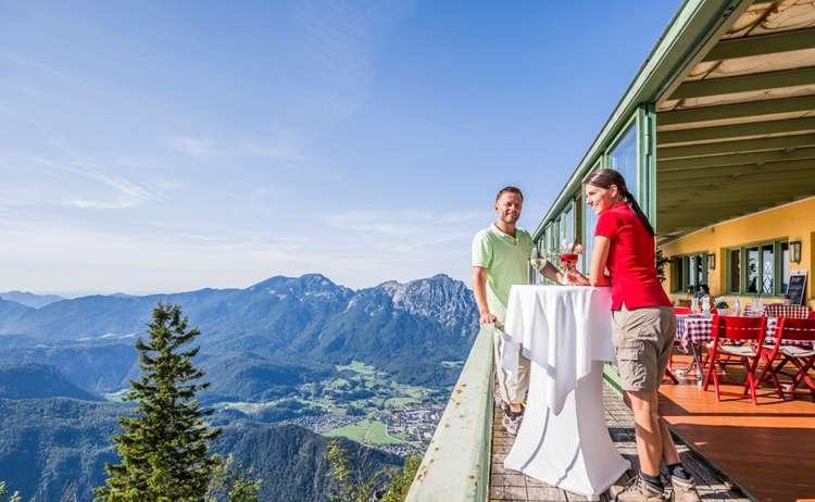 Paerchen Restaurant Aussichtsterrasse