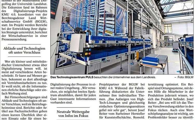 Presseartikel Pilotfabrik