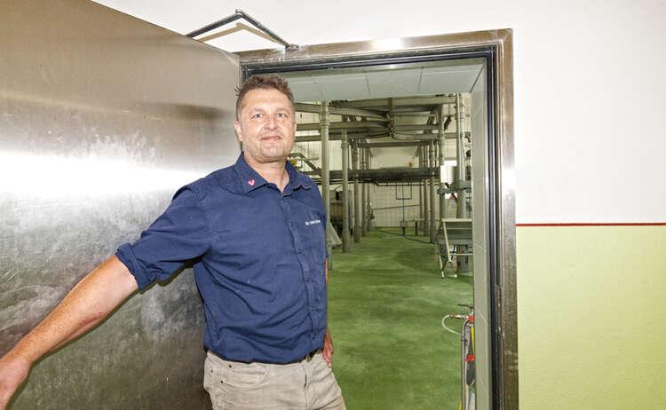 Leiter des Schlachthofes Berchtesgaden: Dr. Horst Brunner