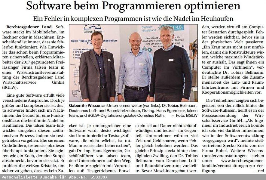 Software beim Programmieren optimieren