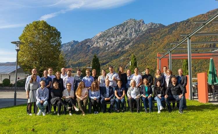 Die Teilnehmer des Startup Camps