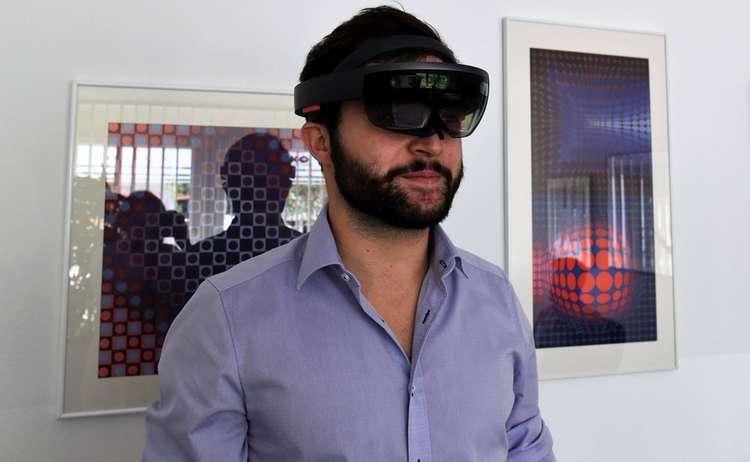 Die HoloLens Brille